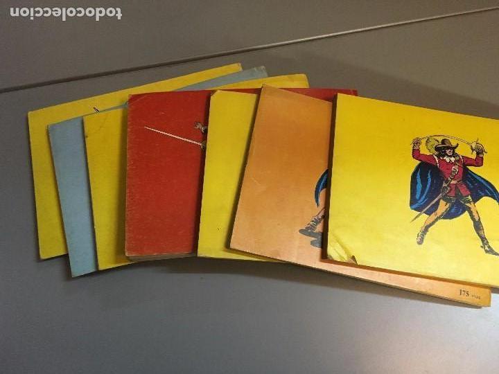 Tebeos: LIQUIDACION ESPADACHIN ENMASCARADO RETAPADOS TOMOS 1 3 4 5 6 7 Y 8 (el 2 no ) - Foto 5 - 97253483