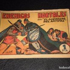 Tebeos: EL GUERRERO DEL ANTIFAZ Nº 9 - VALENCIANA ORIGINAL – 1 PTA.. Lote 97633155