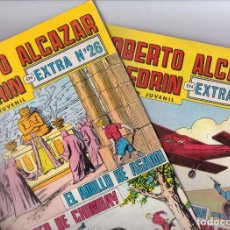 Tebeos: ROBERTO ALCAZAR Y PEDRIN 2ª EPOCA (OCHO EXTRAS ). Lote 97641151