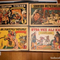 Tebeos: EL GUERRERO DEL ANTIFAZ - LOTE DE 4 EJEMPLARES - VALENCIANA ORIGINAL- NOS 31-32-33-34 - DE 1 PTA.. Lote 97720447