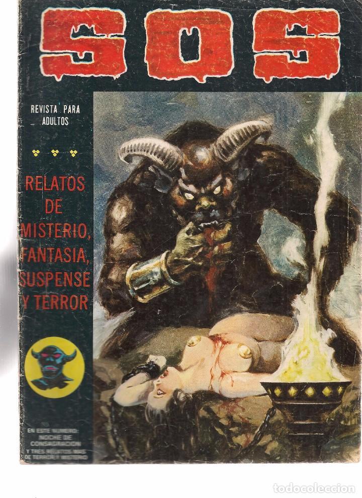 S.O.S. Nº 25. VALENCIANA 1980. (RF.MA)C/15 (Tebeos y Comics - Valenciana - S.O.S)