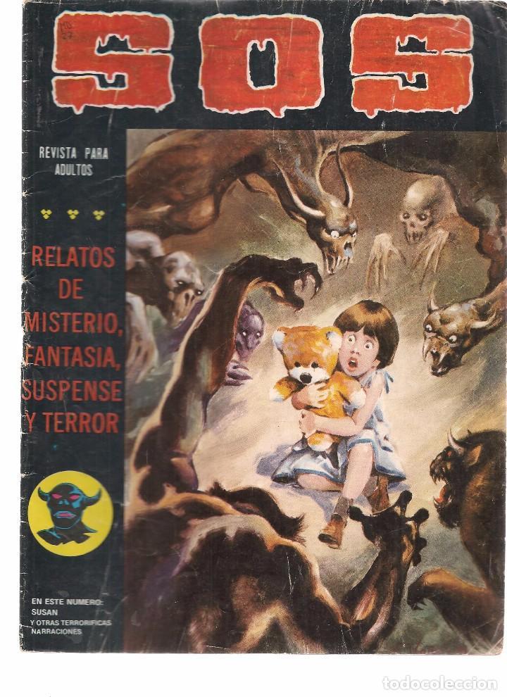 S.O.S. Nº 27. VALENCIANA 1980. (RF.MA)C/15 (Tebeos y Comics - Valenciana - S.O.S)