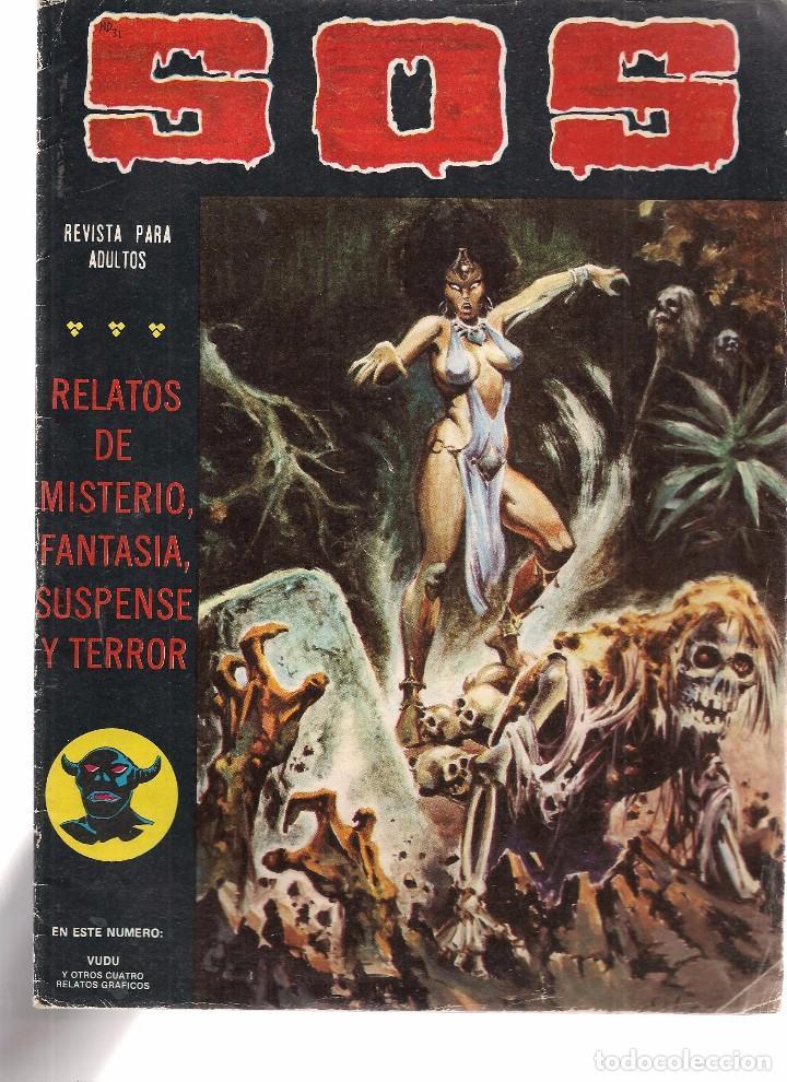 S.O.S. Nº 31. VALENCIANA 1980. (RF.MA)C/15 (Tebeos y Comics - Valenciana - S.O.S)