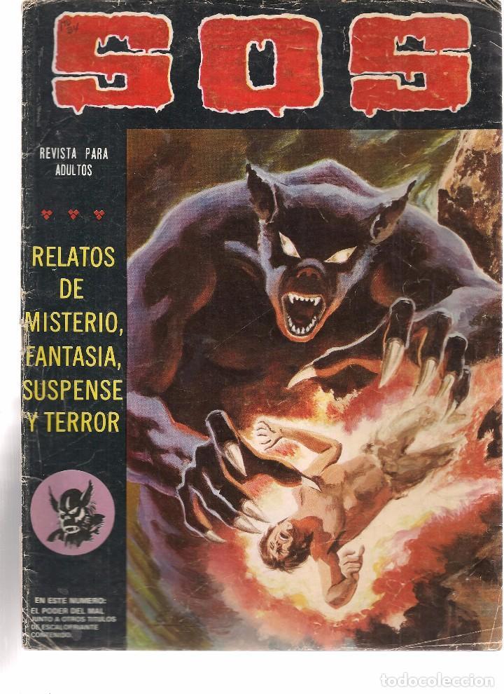 S.O.S. Nº 34. VALENCIANA 1980. (RF.MA)C/15 (Tebeos y Comics - Valenciana - S.O.S)