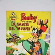 Tebeos: CÓMIC / PUBLICACIÓN INFANTIL PUMBY - Nº 40 - ED. VALENCIANA, 1971 - MEDIDAS 18 X 26 CM. Lote 97849379
