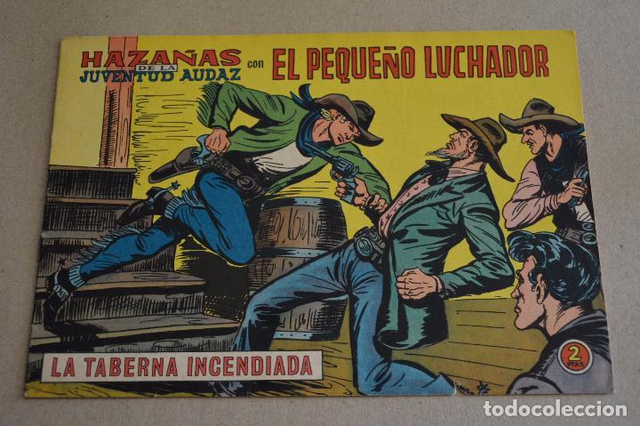 EL PEQUEÑO LUCHADOR 241. HAZAÑAS DE LA JUVENTUD AUDAD. ORIGINAL DE VALENCIANA. LITERACOMIC. (Tebeos y Comics - Valenciana - Pequeño Luchador)