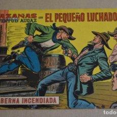 Tebeos: EL PEQUEÑO LUCHADOR 241. HAZAÑAS DE LA JUVENTUD AUDAD. ORIGINAL DE VALENCIANA. LITERACOMIC.. Lote 97905131