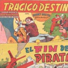 Tebeos: BARNEY BAXTER ORIGINALES 1960 - NºS 4 Y 12 ÚLTIMO . Lote 98166723