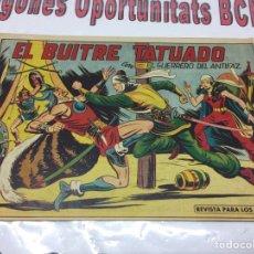 Tebeos: TEBEO EL GUERRERO DEL ANTIFAZ CON EL BUITRE TATUADO. Lote 98193456
