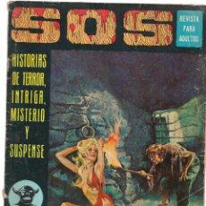 Tebeos: S O S. HISTORIAS DE TERROR, INTRIGA, MISTERIO Y SUSPENSE. Nº 22. EDITORIAL VALENCIANA 1975. (ST/). Lote 98377583
