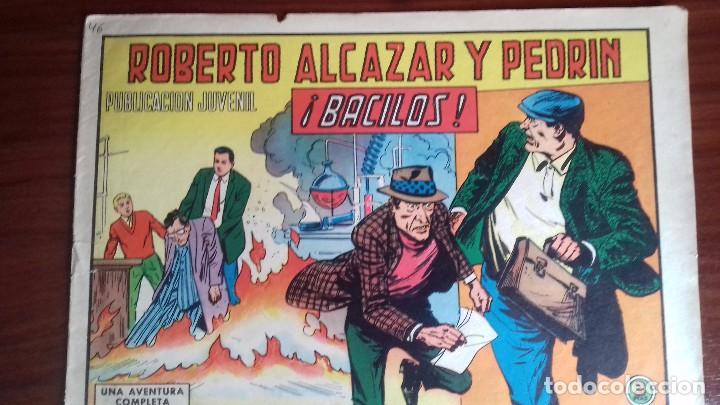 ROBERTO ALCAZAR Y PEDRIN CUADERNILLO ORIGINAL 848 (Tebeos y Comics - Valenciana - Roberto Alcázar y Pedrín)