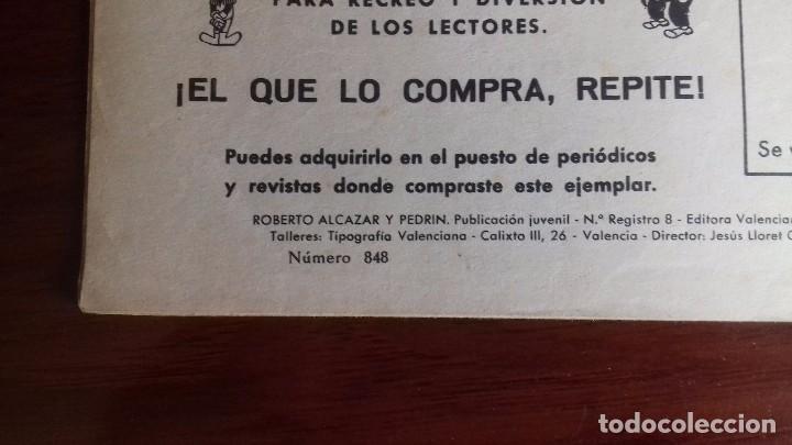 Tebeos: ROBERTO ALCAZAR Y PEDRIN CUADERNILLO ORIGINAL 848 - Foto 3 - 98404151