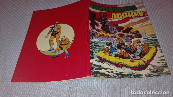 COMANDOS EN ACCION TOMO 4 Nº 34 AL 37 (Tebeos y Comics - Valenciana - Otros)