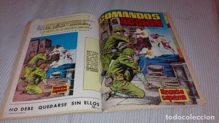 Tebeos: COMANDOS EN ACCION TOMO 4 Nº 34 AL 37 - Foto 2 - 98426355