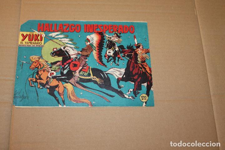 YUKI EL TEMERARIO Nº 100, EDITORIAL VALENCIANA (Tebeos y Comics - Valenciana - Otros)