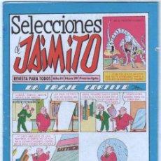 Tebeos: SELECCIONES DE JAIMITO Nº 29 - VALENCIANA 1958. Lote 98810523
