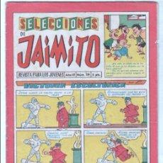 Tebeos: SELECCIONES DE JAIMITO Nº 59 VALENCIANA 1958. Lote 98810631