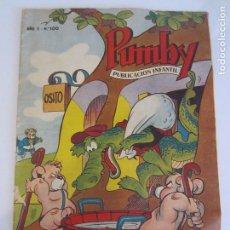 Tebeos: PUMBY Nº 100- ORIGINAL- MUY DIFICIL. Lote 99228447