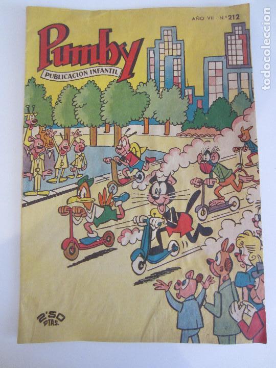 PUMBY Nº 212- ORIGINAL- DIFICIL (Tebeos y Comics - Valenciana - Pumby)