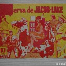 Tebeos: EN LA RESERVA DE JACOB-LAKE. Nº 90 DE YUKI EL TEMERARIO. EDITORIAL VALENCIANA. 1961. Lote 99249467