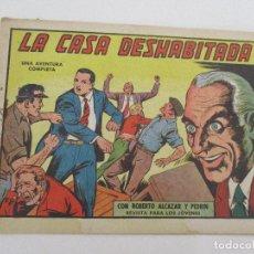 Tebeos: CÓMIC - ROBERTO ALCÁZAR Y PEDRÍN Nº 537 - LA CASA DESHABITADA - ED VALENCIANA - AÑO 1963. Lote 99511723