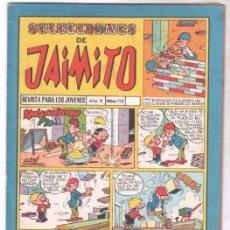 Tebeos: SELECCIONES DE JAIMITO Nº 110 - DIFICIL - EL CABALLERO NEGRO POR VAÑÓ. Lote 99656555