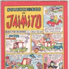 Tebeos: SELECCIONES DE JAIMITO Nº 113 DIFICIL. Lote 99657075