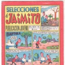 Tebeos: SELECCIONES DE JAIMITO Nº 136. Lote 99657479