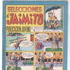 Tebeos: SELECCIONES DE JAIMITO Nº 159 DIFICIL, MUY BUENA CONSERVACIÓN. Lote 99658679