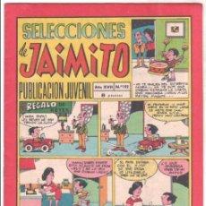 Tebeos: SELECCIONES DE JAIMITO Nº 192 ÚLTIMO - MAGNÍFICO ESTADO. Lote 99659951