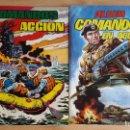 Tebeos: LOTE 2 TEBEOS - COMICS COMANDOS EN ACCIÓN - TOMO 2 Y 4 (VER FOTO ADICIONAL). Lote 99879903