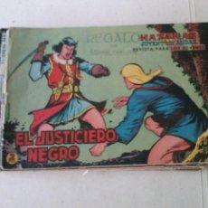 Tebeos: EL JUSTICIERO NEGRO ,VALENCIANA ORIGINALES, LOTE DEL Nº 1 AL 23,. Lote 100291155