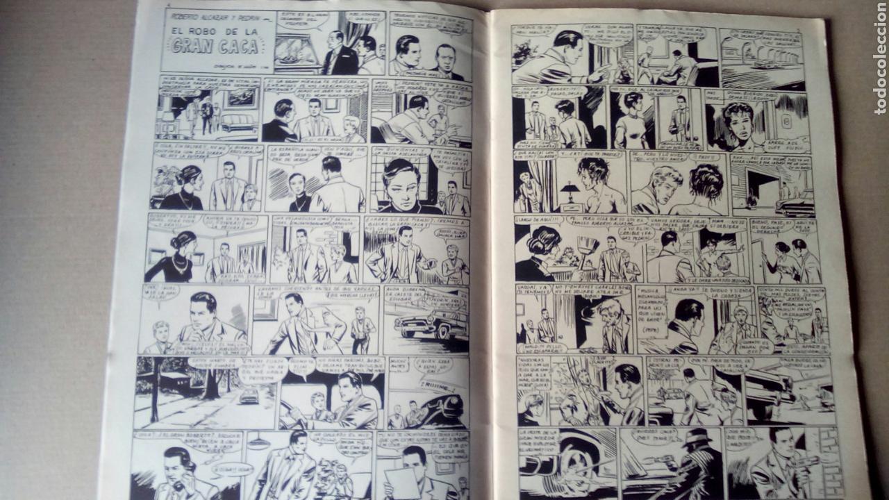 STAR N°14 CON ROBERTO ALCAZAR Y PEDRÍN EL ROBO DE LA GRAN CACA DIBUJOS DE VAÑO (Tebeos y Comics - Valenciana - Roberto Alcázar y Pedrín)