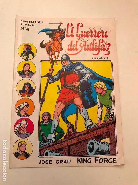 EL GUERRERO DEL ANTIFAZ SERIE INEDITA Nº 4. VALENCIANA 1984 (Tebeos y Comics - Valenciana - Guerrero del Antifaz)