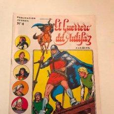 Tebeos: EL GUERRERO DEL ANTIFAZ SERIE INEDITA Nº 4. VALENCIANA 1984. Lote 100543723