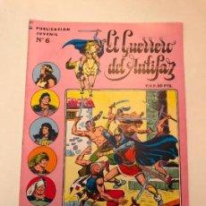 Tebeos: EL GUERRERO DEL ANTIFAZ SERIE INEDITA Nº 6. VALENCIANA 1984. Lote 100543783