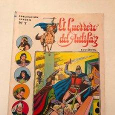 Tebeos: EL GUERRERO DEL ANTIFAZ SERIE INEDITA Nº 7. VALENCIANA 1984. Lote 100543811