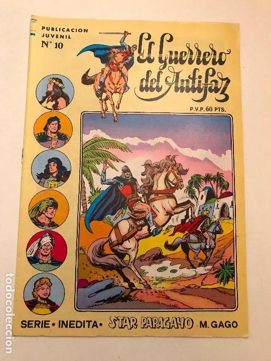 EL GUERRERO DEL ANTIFAZ SERIE INEDITA Nº 10. VALENCIANA 1984 (Tebeos y Comics - Valenciana - Guerrero del Antifaz)
