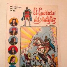 Tebeos: EL GUERRERO DEL ANTIFAZ SERIE INEDITA Nº 13. VALENCIANA 1984. Lote 100543987