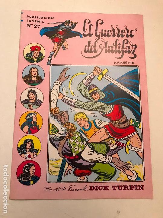 EL GUERRERO DEL ANTIFAZ SERIE INEDITA Nº 27. VALENCIANA 1984 (Tebeos y Comics - Valenciana - Guerrero del Antifaz)