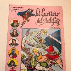 Tebeos: EL GUERRERO DEL ANTIFAZ SERIE INEDITA Nº 27. VALENCIANA 1984. Lote 148931013