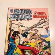 Tebeos: EL PEQUEÑO LUCHADOR Nº 35. EDITORIAL VALENCIANA 1977. Lote 100545251
