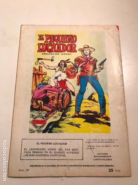 Tebeos: EL PEQUEÑO LUCHADOR Nº 39. EDITORIAL VALENCIANA 1977 - Foto 2 - 100545323