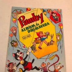 Tebeos: EXTRA PUMBY ALBUM DE PRIMAVERA 1966. VALENCIANA 1966. Lote 100546035