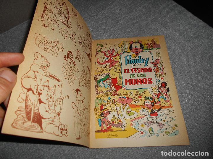 Tebeos: PUMBY ALBUM LIBROS ILUSTRADOS Nº 9 EL TESORO DE LOS MONOS ORIGINAL VALENCIANA PERFECTO - Foto 2 - 100653707