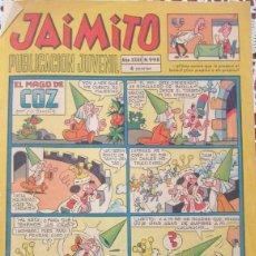 Tebeos: JAIMITO Nº 998. VALENCIANA 1945. CON HÉROES DEL DEPORTE POR AMBRÓS.. Lote 100697243