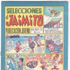 Tebeos: SELECCIOMES DE JAIMITO Nº 137 MUY BUEN ESTADO. Lote 100760063