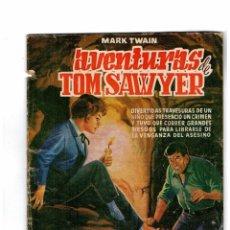 Tebeos: MARK TWAIN -AVENTURAS DE TOM SAWYER-SELECCIÓN DE AVENTURAS ILUSTRADAS Nº 6. 1961. Lote 101004659