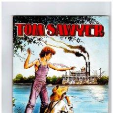 Tebeos: TOM SAWYER-SELECCIÓN DE AVENTURAS ILUSTRADAS AÑO 1981 NUEVO. Lote 101005231
