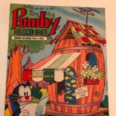 Tebeos: PUMBY Nº 671. VALENCIANA 1970. Lote 101022931